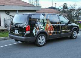 Bear Mountain Van Wrap