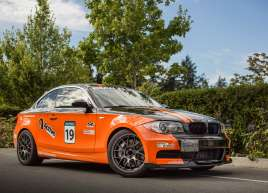 BMW Orange Wrap