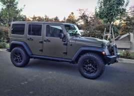 Jeep Matte Green Wrap