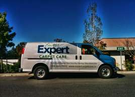Expert Carpet Care Van Wrap