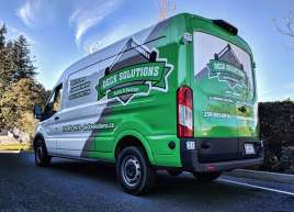 Deck Solutions Partial Van Wrap