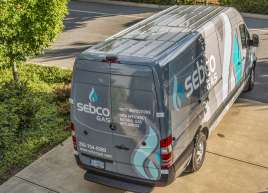 Sebco Gas Van Wrap