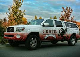 Griffin Restoration Truck Wrap