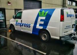 Empress Painting Van Wrap