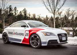 Audi Race Car Wrap